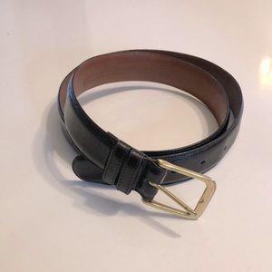 Men's COACH black leather belt size 36